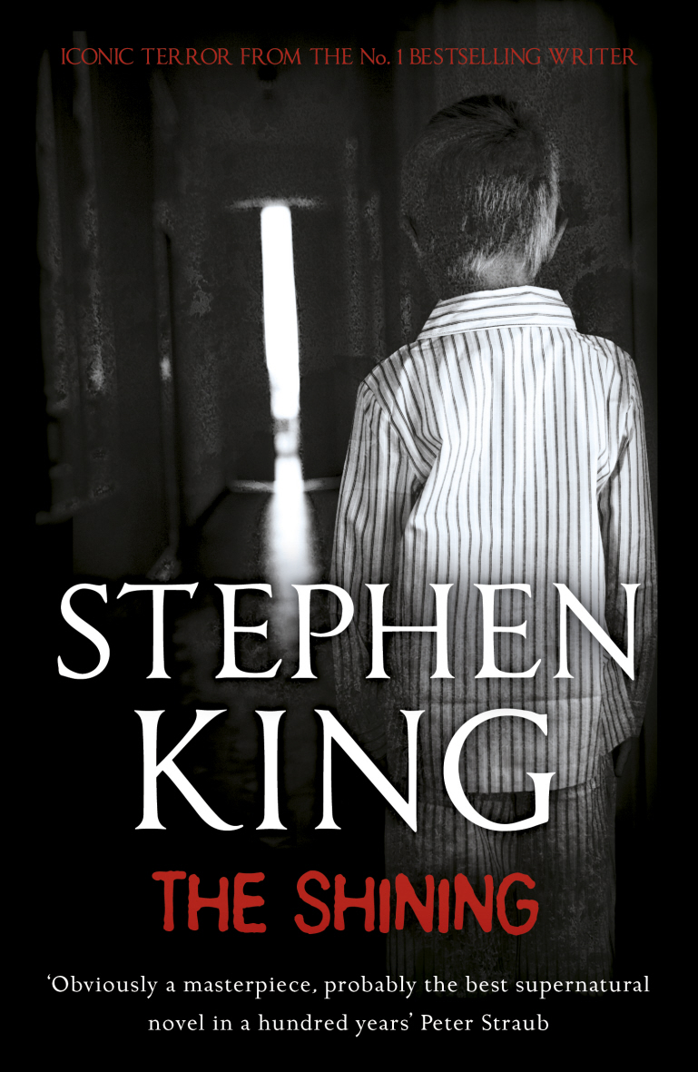 Old Book Cover Quotes : Old school wednesdays the shining by stephen king