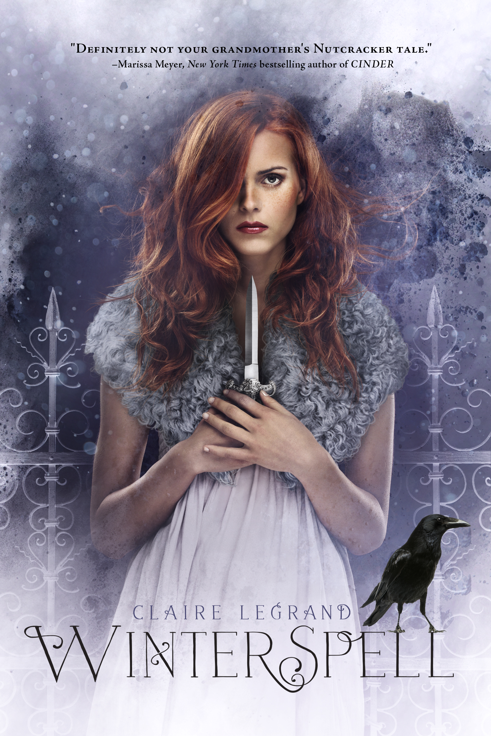 A Smugglerific Cover (& Giveaway): Winterspell by Claire Legrand