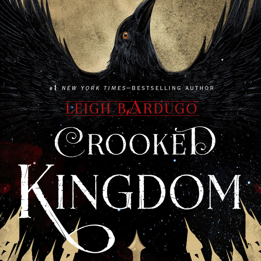 Image result for crooked kingdom audiobook